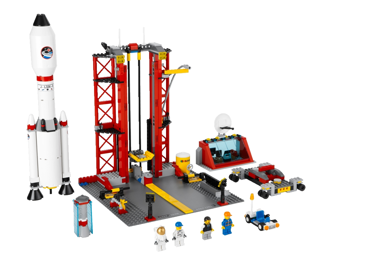 LEGO 3368 City Raketenstation / Space Center - erasmus-toys