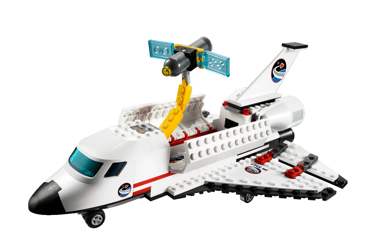lego city space shuttle 3367 instructions